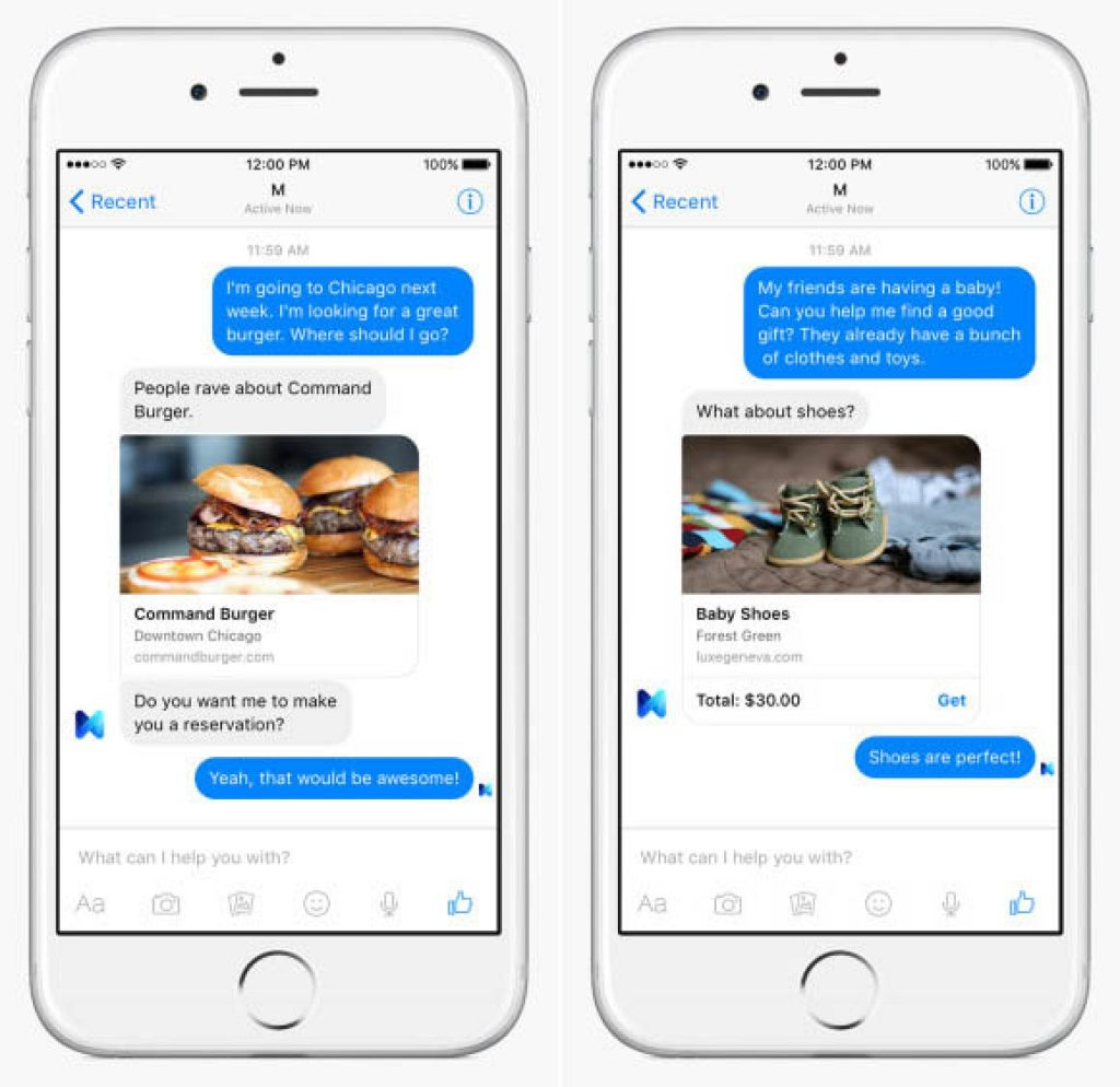 Facebook-Messenger-showcasing-products