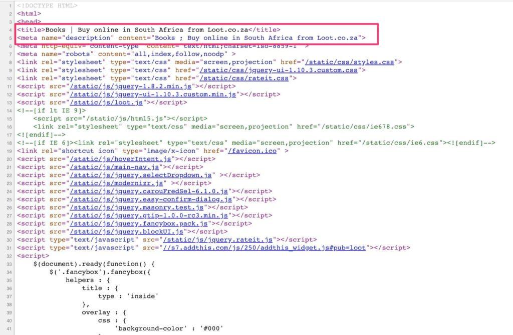 keywords-meta-tags-in-source-code