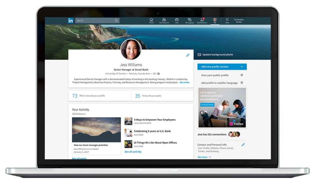 new-linkedin-profiles
