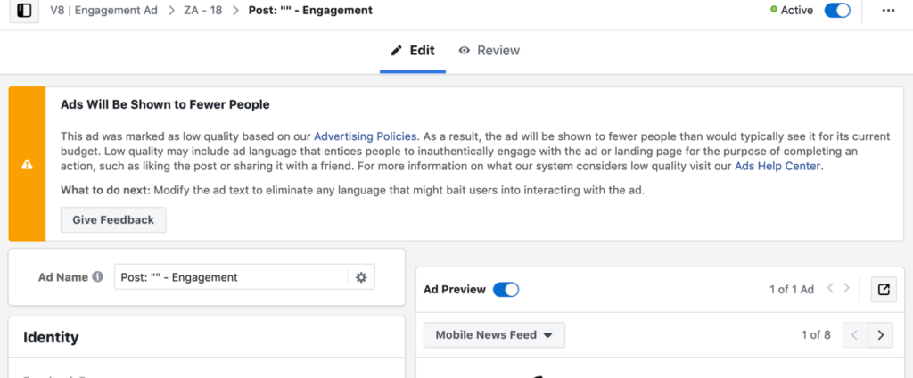 ad-will-reach-fewer-people-because-of-text